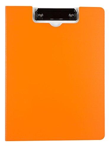 Idena 10076 - Klemmbrettmappe, DIN A4, orange
