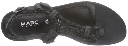 Marc Shoes  Indira, tongs femme Noir - Negro (Schwarz (black 100))