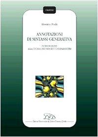 Annotazioni di sintassi generativa. Introduzione alla teoria dei principi e dei parametri