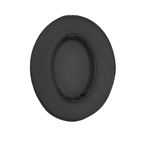 Brainwavz Coussinets de rechange en mousse à mémoire de forme Adaptés pour de nombreux casques AKG, HiFiMan, ATH, Philips, Fostex, Grado, Sony Ear Pad (Noir)