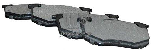 JP Group 4163701119Kit pastiglie freno, Freno A Disco bremsbe Lage, bremssteine, Pastiglie freni posteriori