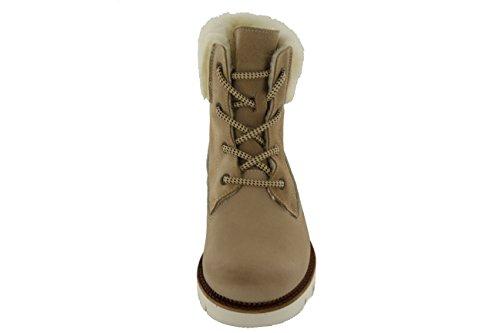 Marc Shoes Neva, Bottes courtes avec doublure chaude femme Beige - Beige (Taupe 00080)