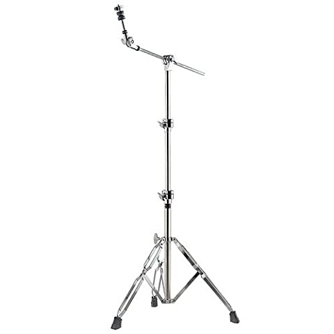 Stagg HBD-508S Short Boom Cymbal Stand - Silver