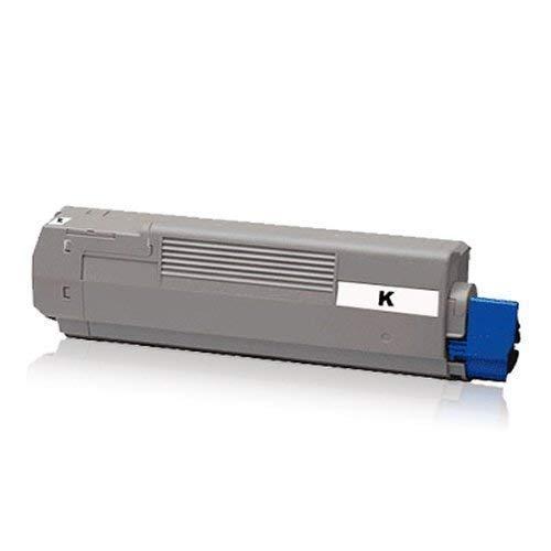 kompatible XXL Tonerkartusche Black - für Oki C-5650 C5650 N C 5650N C5650 DN C-5650DN C 5750 C5750 N C-5750N C5750 DN C-5750DN - Toner Schwarz -