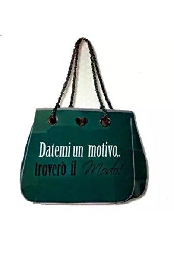 Shopping Bag Green MiniPà Pandorine