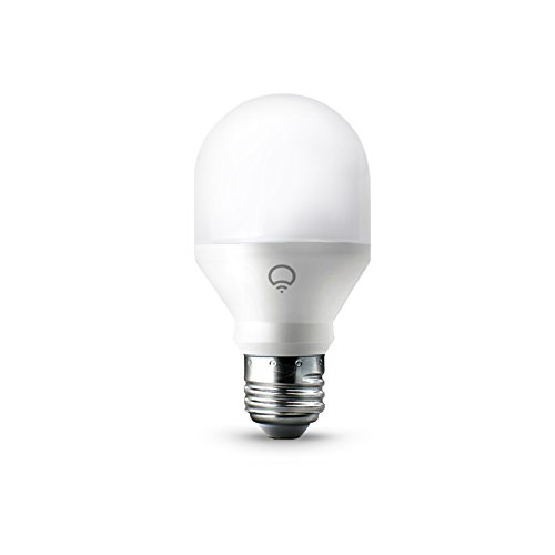 LIFX Mini, E27, Adjustable, Multicolour, Dimmable, No Hub Required, Works with Alexa, Apple HomeKit and the Google Assistant