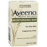 Aveeno Active Naturals Moisturizing Bar for Dry Skin with Natural Colloidal Oatmeal, 3.5-Ounce Bars (Pack of 8)