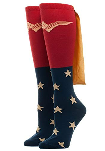 DC Comics Wonder Woman Caped Knee High Calcetines