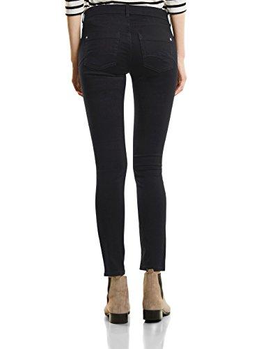 Street One Damen Slim Jeans 370957 York Schwarz (Black Denim Wash 11080)