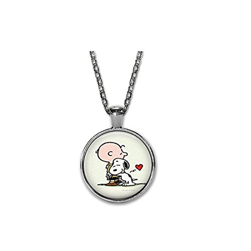 daifeige Charlie Brown and Snoopy Charlie Charlie Brown and Snoopy - Charlie-Charm-Halskette - Puppy (Charlie Erwachsenen Brown)