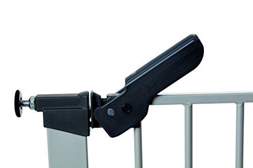 Baby Dan 60117-2693-02-85 Premier Tür / Treppenschutzgitter zum Einklemmen, 73.5 – 99.8 cm, silber / schwarz - 5