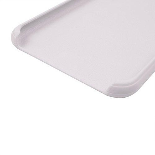 iPhone Case Cover Pour iPhone 7 Plus Classique Surface Douce Soft TPU Étui de Protection ( Color : Dark blue ) White
