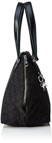 Kipling Art S, Sacs Portés Main Femme Noir (REF33W Diamond Black)