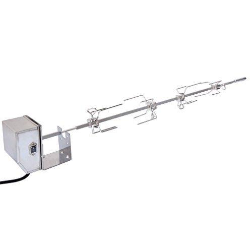 Onlyfire acciaio inox grill girarrosto kit adatto per weber 7653 uso con weber genesis ii e genesi ii lx 4 & 6 bruciatori griglie