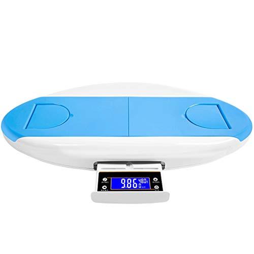 EspecificaciónMaterial del cuerpo: plástico ABSTamaño: 63 * 32 * 8.2cmRango de pesaje: 0.05-30kgPeso neto del producto: 2,3 kg.Rango de medición de altura: 48-68cmPrecisión de la medida de altura: 1mmUse la batería: batería 4AAA (excluyendo la baterí...