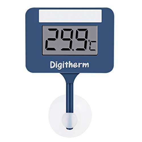 Jinxuny Thermometer für Aquarium Mini Wassertemperatur Messgerät für Aquarium Digital Sommergabel, Batteriebetrieb Komfort und Fische halten