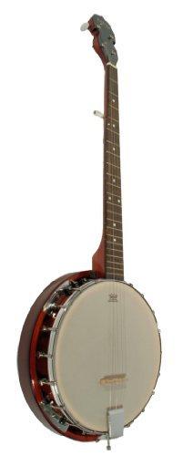 Cherrystone Banjo (6-saitig) Mahagoni mit Remo Fell