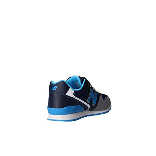 Basket, couleur Blue , marque NEW BALANCE, modèle Basket NEW BALANCE KV996 CNY Blue Bleu jeans