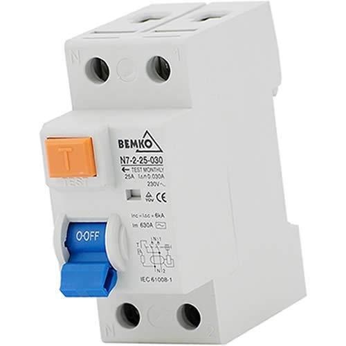 Fehlerstromschutzschalter FI-Schutzschalter 2-polig; 300mA; 63A
