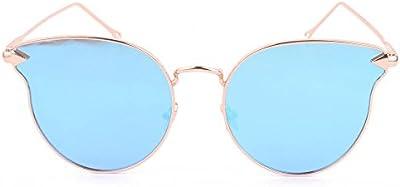 Smileyes TSGL025 2017 Colección Nueva Gafas de Sol Con AC Lente UV400 Coloradas Grandes Modernas Elegantes Casuales para Mujer