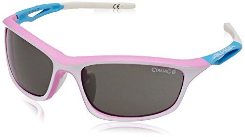 ALPINA Damen Fahrradbrille Sorcery C+ Pink/White/L'Blue, One size