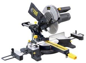 Fartools 113391 Scie à onglet radiale bois/métaux 2100 W Diamètre 255 mm Capacité de coupe maxi 70 x 300 mm