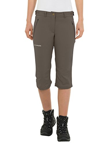 VAUDE Damen Hose Women's Farley Stretch Capri II, Coconut, 46, 04578 (Stretch-capris)