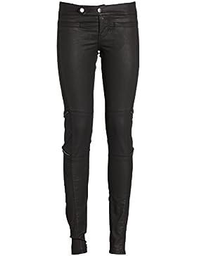 GUESS Biker Zip, Pantalones para Mujer
