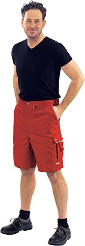 Arbeits-Shorts CANVAS 320 grün Rot/Rot