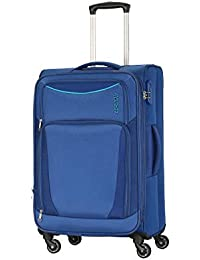 American Tourister Portland Polyester 70 cms Blue Softsided Check-in Luggage (FL9 (0) 01 002)