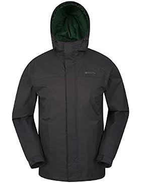 Mountain Warehouse Chaqueta Torrent para hombre - Chubasquero, abrigo ligero, ropa de abrigo con costuras termoselladas...