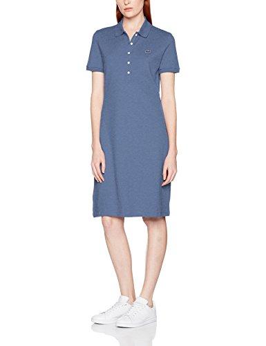 Lacoste, Vestito Donna Bleu (Neptune Chiné)