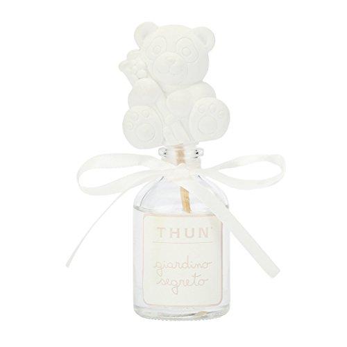 THUN Diffusore 50 ml con gessetto panda, h 7,5 cm, fragranza naturale