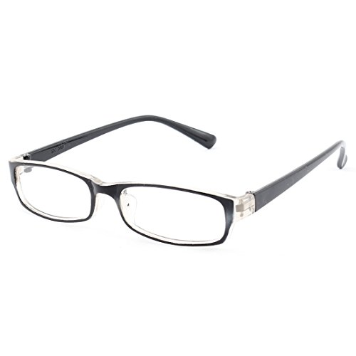 sourcingmapr-kids-plastic-full-rim-rectangle-lens-plain-eyeglasses-plano-glasses-black-clear