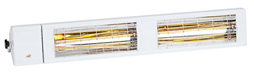 Burda Infrarot Heizstrahler Low Glare SMART IP24 MULTI 4000 Watt in Weiß