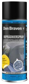 Imprägnierspray Den Braven 400ml Profi Imprägnierer für Textilien, Planen wie z.B. Cabrioverdecke
