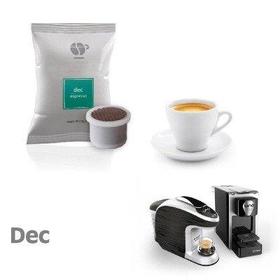 400 capsule caffè LOLLO miscela DECAFFEINATO compatibili Uno System - Maranello - Squesito