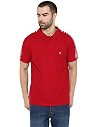 Red Tape Men's Solid Regular Fit Polo