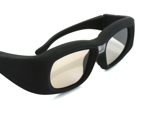 4x 3D Active Shutterbrille für 3D Beamer -
