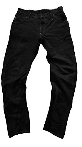 G-STAR RAW Herren Jeans Riley 3D Loose Tapered Black 33/32 -