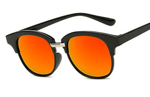 Saino Metalllegierung Anti-Strahlung Brillen Matte Rubber Runde Verspiegelt Ultra Leicht Outdoor-Brille Acetat-Material