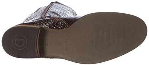 Gabor Shoes 31.638 Damen Langschaft Stiefel Braun (teak 88)
