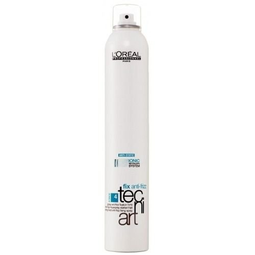 LOREAL tecni art fix anti-frizz Spray Strong Hold Force 4 400ml -
