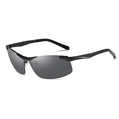 Ppy778 Männer und Frauen Klassische Metall Designer Sonnenbrillen, Klassische Aviator polarisierte Pilot uv400 Schutz Fahren Sonnenbrille mit Premium metallrahmen (Color : H)