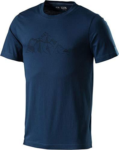 H-T-Shirt Milan Blue Petrol 3XL