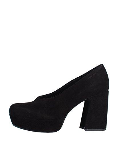 Vagabond Danila Black Shoes - Dècolletè Nere Pelle Scamosciata Black