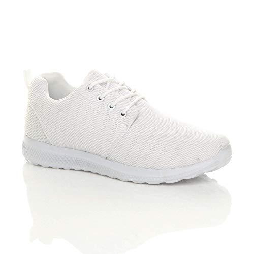 Ajvani , Herren Sneaker, Weiß - weiß - Größe: 45 EU