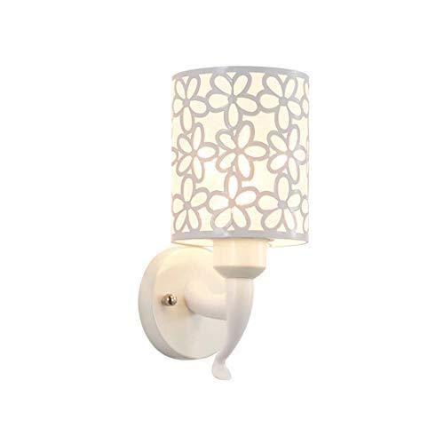 1 Vanity Wandleuchte (DAISHOP-Moderne Wandleuchte Vanity Light Ein-Licht-Innenwandleuchte Moderne Wandleuchte Plug-In Rechteckig (Die Glühbirne Ist Nicht Im Lieferumfang Enthalten))