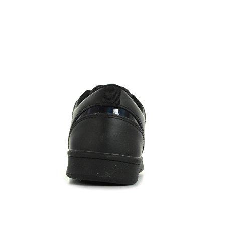 Eleven Paris 11prs, Baskets Basses Mixte Adulte Noir (Black)