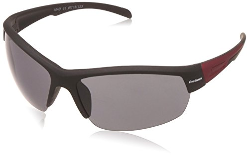 Fastrack UV Protected Sport Men\'s Sunglasses - (P355BK1|67|Smoke (Grey / Black) Color)